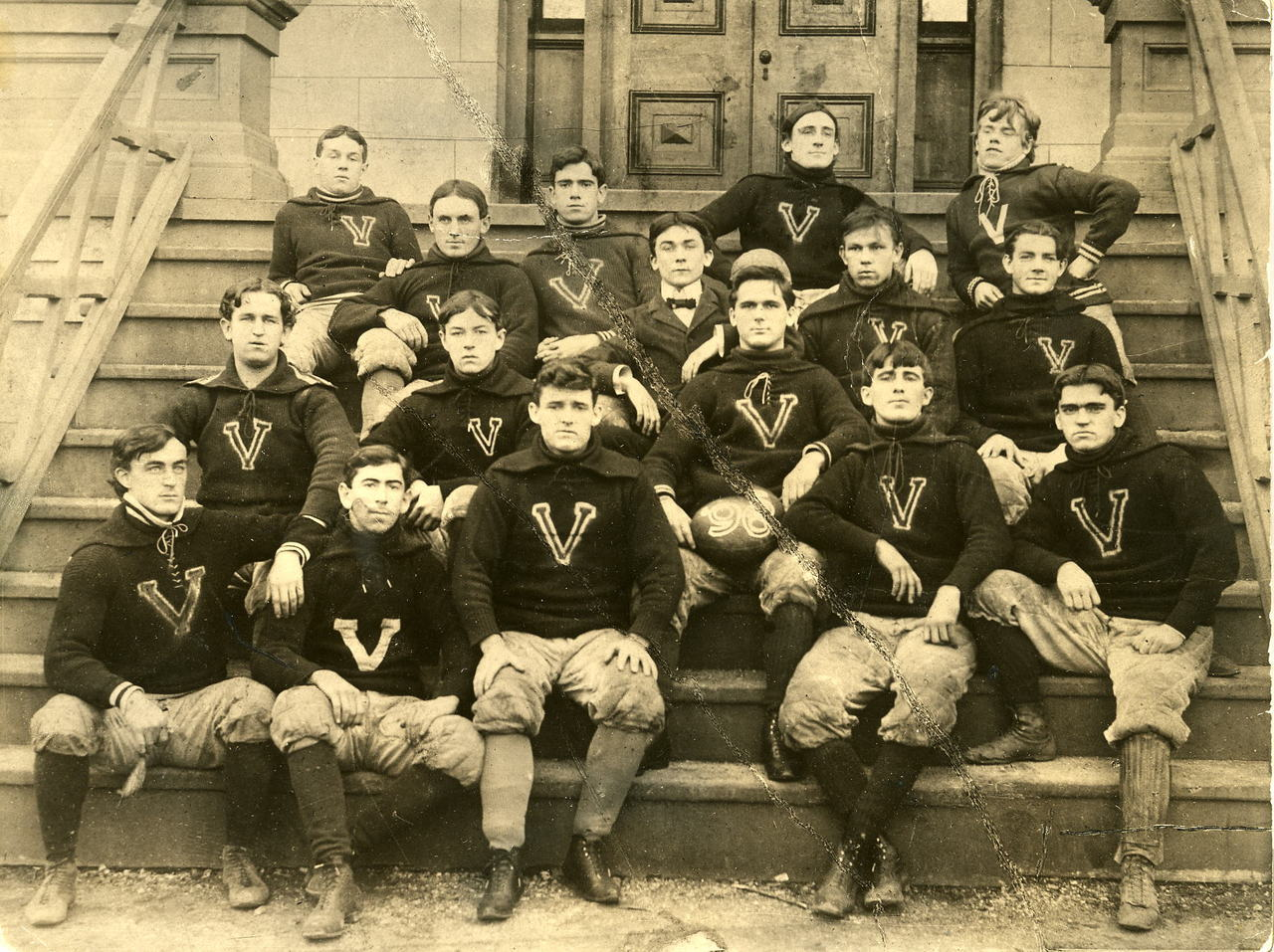 Villanova College Varsity Football team . 1896 Villanova University Archives