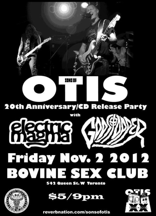 Playing with Sons of Otis in Toronto on November 2nd for their album release/20 year anniversary. http://www.facebook.com/events/360043264075733/?fref=ts PS What Matters is up at godstopper.bandcamp.com