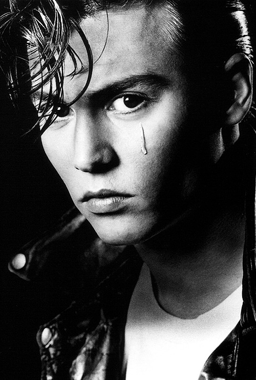 Johnny Depp, photographed by Greg Gorman, 1989.