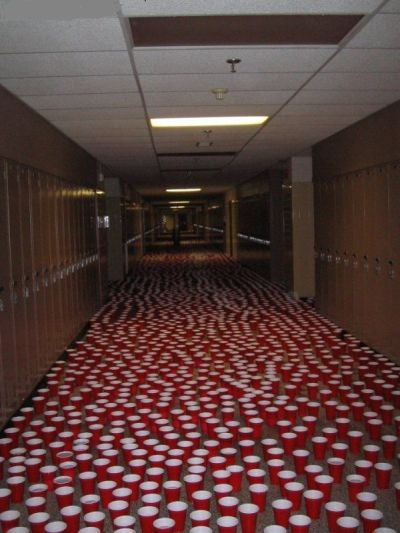 The Best Senior Pranks EVER. Reblog and Click the picture to see them all. You'll be shocked.