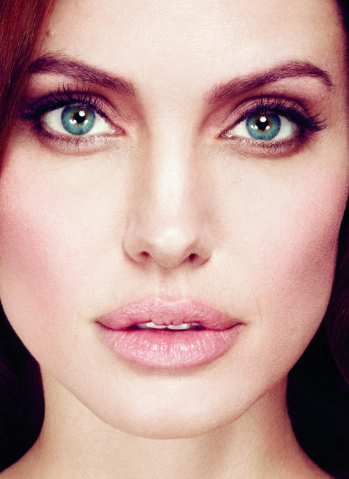 suicideblonde:  Angelina Jolie photographed by Alexei Hay for Marie Claire, January 2012