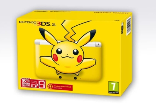 Pikachu 3DS XL Coming To Europe No word yet if this will be available to those of us in the US, but Europe and Japan are both going to get the nice Pikachu 3DS XL sometime in the near future.