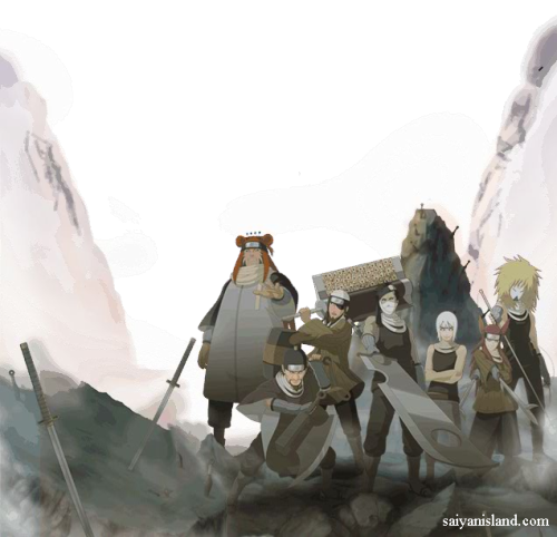Seven Ninja Swordsmen of the Mist