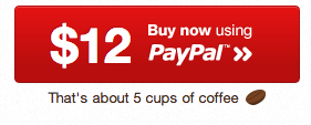 The fine folks at wrapbootstrap convert the price you have to pay in cups of coffee. 7 cups = 18$. I really like this. It´s more human than just a number.