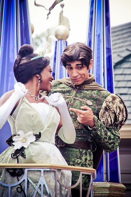 Tiana and Naveen by abelle2 on Flickr.