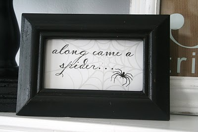 Halloween printable from The House of Smiths.