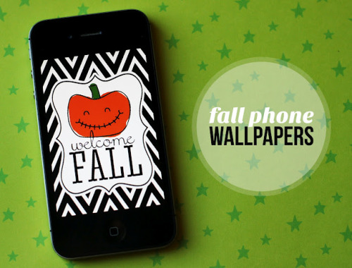 Free fall phone wallpapers from eighteen25.