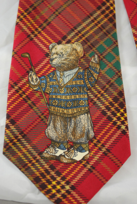 It's on eBay: Polo Bear tartan necktie — For all the 'Lo Heads out there, I'm looking out for you. It can be yours for $79.99, shipped free.