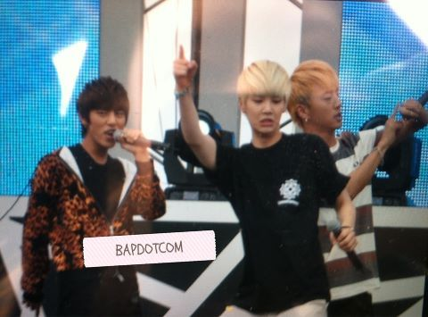 121005 B.A.P at Chinese Students Festival (Rehearsal Preview)