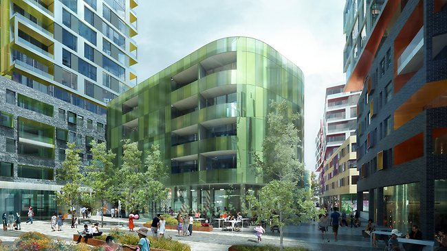 planninganddesignaus:  New Mayfield Apartments Changes to CBD Planning laws now allow developers to build at higher densities, increased heights and with lower parking requirements, when redeveloping an entire city block. Click Here for more information.