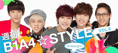 [R�PORTAJ] B1A4 - B1A4 ☆ STYLE (Say� 08)