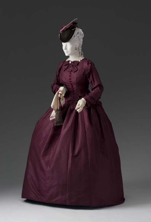 omgthatdress:  Afternoon Dress 1855-1865 The Mint Museum