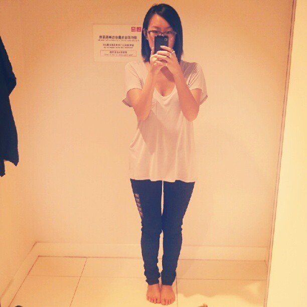 Trip to Hong Kong = trip to Uniqlo. (Taken with Instagram)