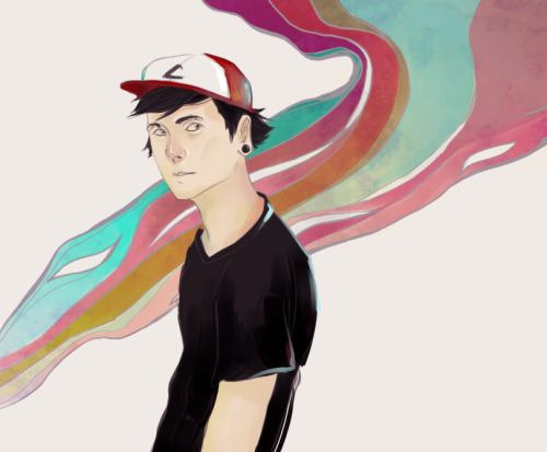 This is a picture I did of Ash Ketchum for a late birthday present for one of my friendsHardly looks anything like Ash but WHO CARES HURR + Used a reference for his body because I didn't know how his shoulders were supposed to look X'D
