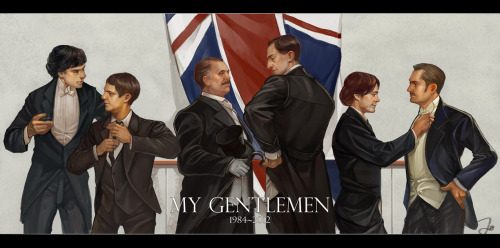lostconner:  My gentlemen: Sherlock Holmes and John Watson is the best dream ticket on my mind. One of my friends said:Because of every different times have some actor interprets Holmes in a new way,so they will never be dead