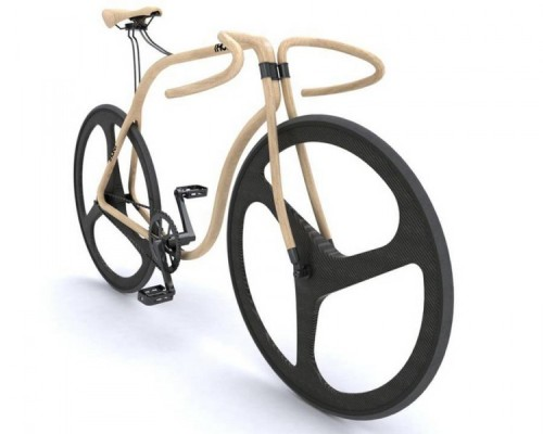 Thonet Bike made by Beech Wood |  Pretty sweet bike.