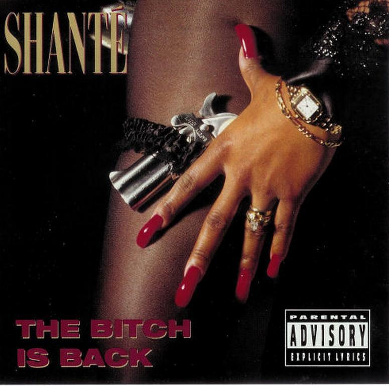 20 YEARS AGO TODAY |10/5/92| Roxanne Shante releases her second and final album, The Bitch Is Back, on Cold Chillin' Records.