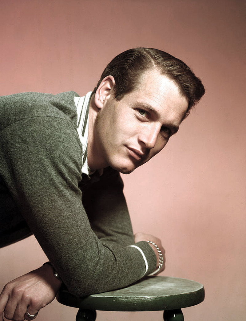 voxsart:  Knits For The Chill 2. Paul Newman.