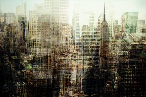 secondsminuteshours:  Manhattan Skyscrapers through the lens of Florian Mueller.