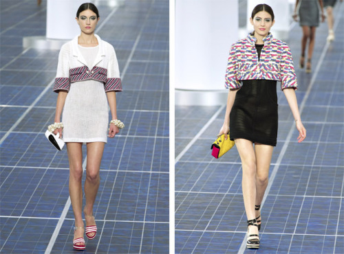 "Chanel unveiled their Spring/Summer 2013 Collection just a few days ago and this what head designer, Karl Lagerfeld had to say about it ""It's more about the mood of the times, not something you have to translate, it's all about the wind, it's in the air"". I haven't a clue what he is talking about nor do I care because he is somewhat of an asshole."