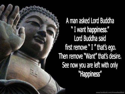 thespiritscience:  All you're left with is happiness  why this Lord Buddha has Nazi logo on his body ?