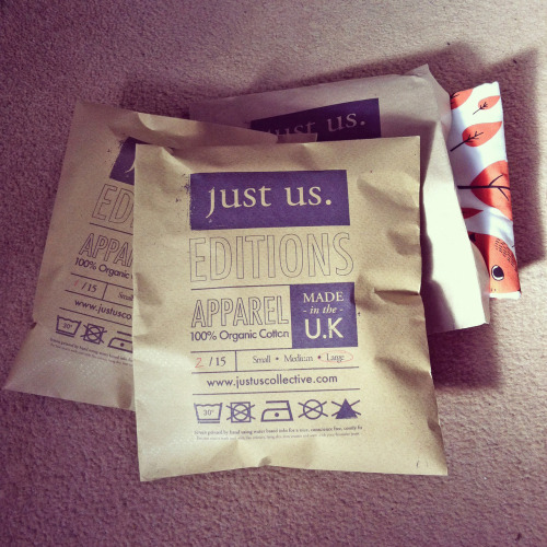 Each of our Just Us Editions tees come packaged and numbered. Grab one here