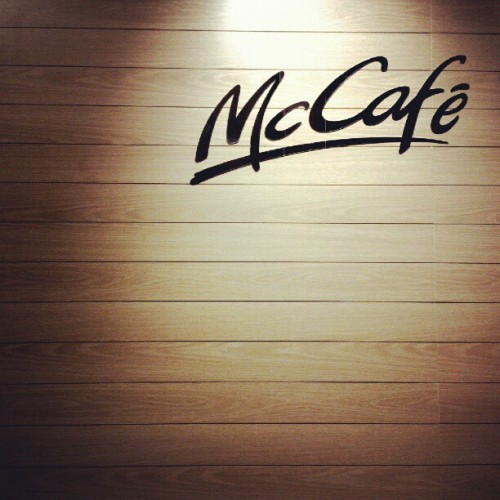 Not your everyday McDonald #mcdonald #mcD #igers #igmalaysia #instadaily #foodporn #sign #cafe #woods  (Taken with Instagram at mc Donald taman Connaught)