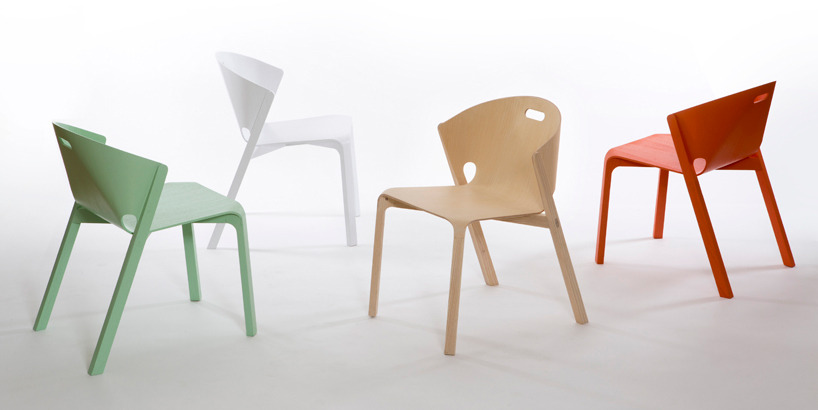 new chair of Benjamin Hubert for LA ESPADA