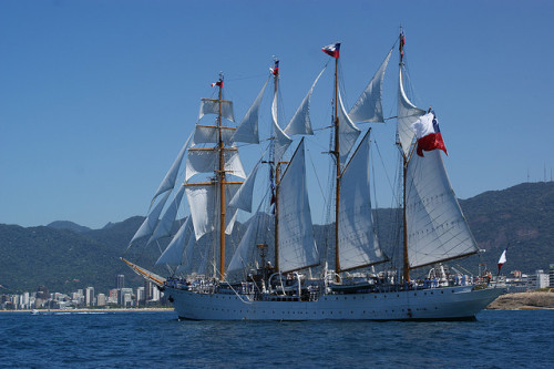 Race - Old Sail Boats in Rio by Marcia Coimbra on Flickr.