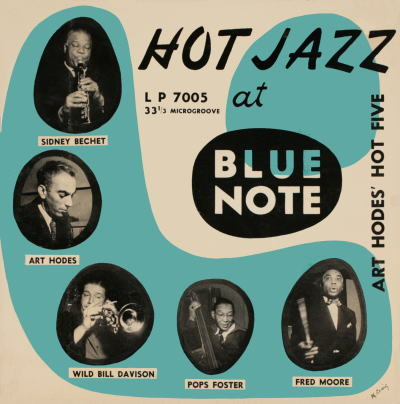 Art Hodes' Hot Five, Hot Jazz at Blue Note (1949) Source: Vintage Vanguard