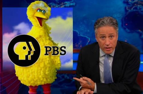 """Motherf**ker fired Big Bird and won!"" - Jon Stewart http://on.cc.com/WuHMUt"