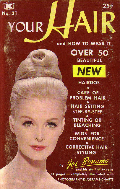 Your Hair and How to Wear It, paperback book cover Source: Tin Trunk