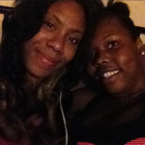 Me & my baby @flaws_n_all_dimplesz 💗💜  (Taken with Instagram)