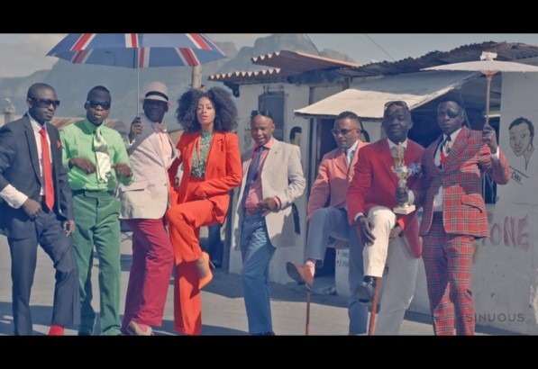 "Watch: Solange Takes Stylish Cape Town Excursion in ""Losing You"" Video Directed by Melina Matsoukas, Solange's new video for ""Losing You"" was shot in Cape Town, South Africa and features members of the Congolese Le Sape Society (Society for the Advancement of People of Elegance)."