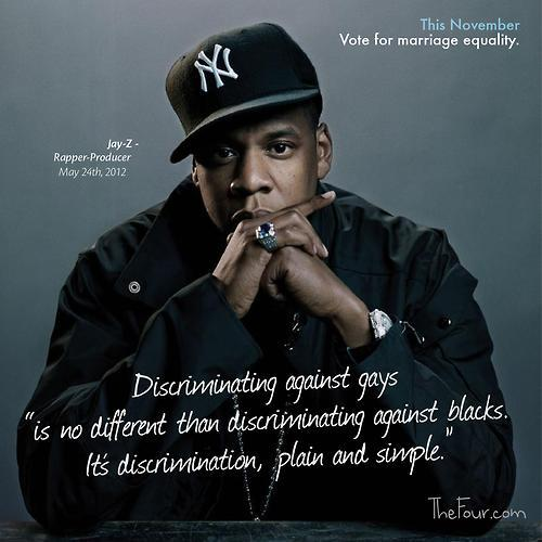 benppollack:  Jay-Z for marriage equality