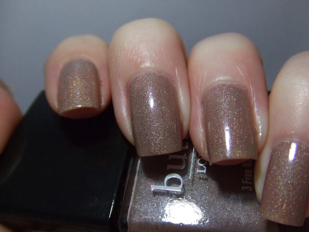 Butter London All Hail the Queen. The most SFW sparkly color ever. —nichole