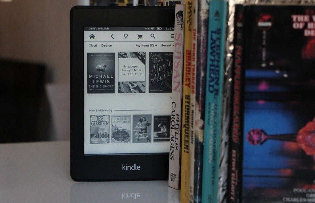 Kindle acquired.