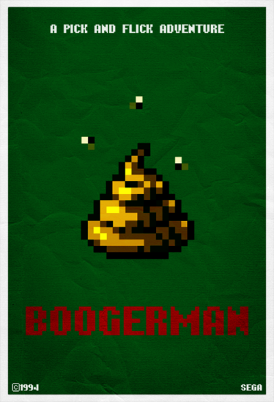 it8bit:  Boogerman poster Created & submitted by Hankok Blog || Twitter || deviantART