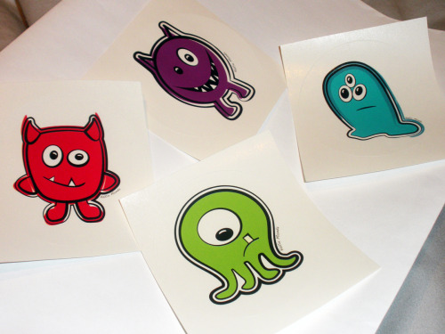 Take these monster stickers and stick em! Plus snag 20 other rad prizes! Click the pic to learn more!