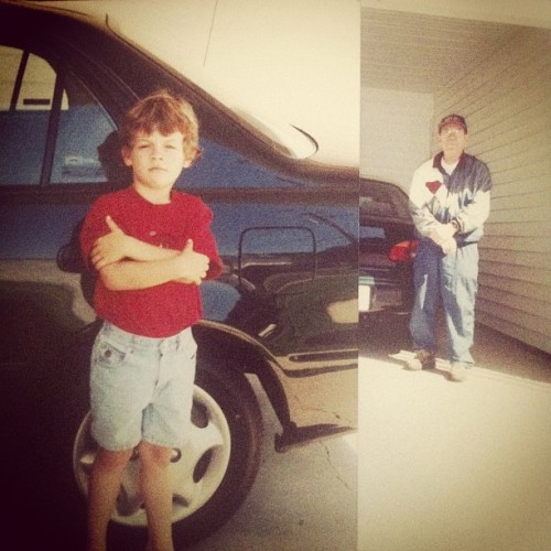 Me and Duck#flashback friday#hardstyling#1997 (Taken with Instagram)