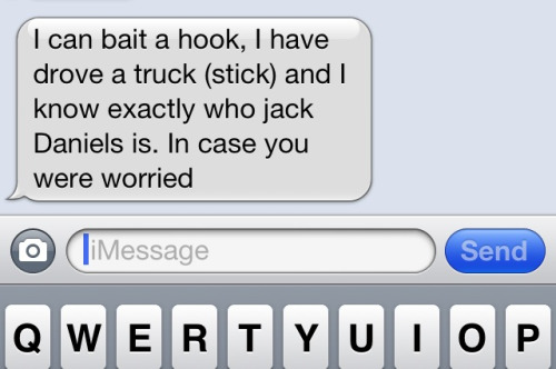 oklahomagirll:  I think this is the best text I've ever gotten.