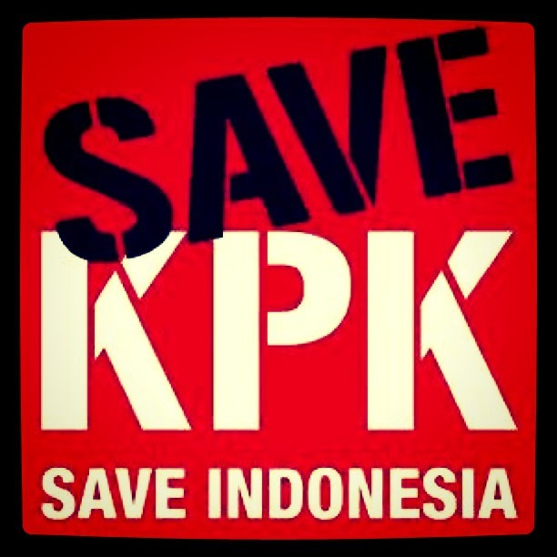 SAVE KPK! #saveIndonesia #instaphoto #instagood #iphonesian (Taken with Instagram)
