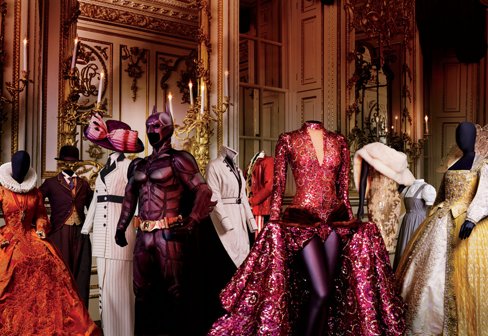 vanityfair:  The Fantasy and Frippery Inside the World's Greatest Wardrobe | The Victoria and Albert Museum Photograph by Michael Roberts