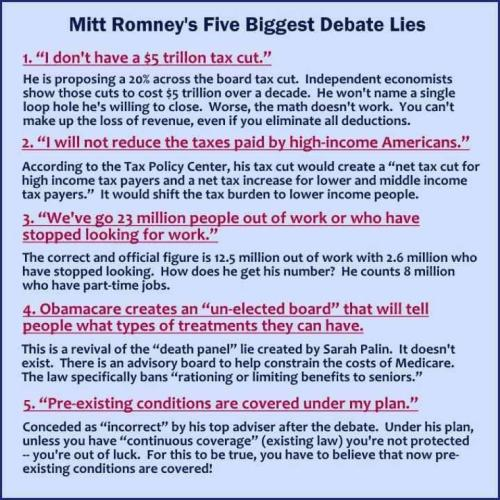 Mitt lying to the people.