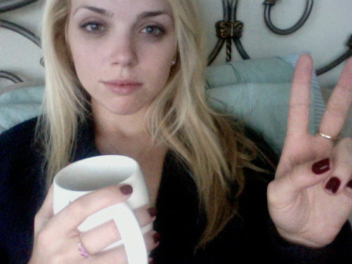 Skipped my 11AM to lay in bed. Currently in a coffee-coma blaring Lana Del Ray.  Its one of those days.