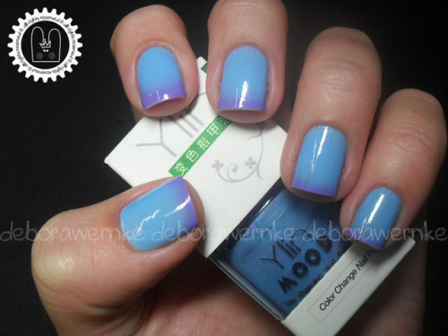 Ylin Mood - Purple/Sky Blue on Flickr.Color Change Nail Polish! http://www.youtube.com/watch?v=KgkITwKPLg4&feature=player_embedded ;)