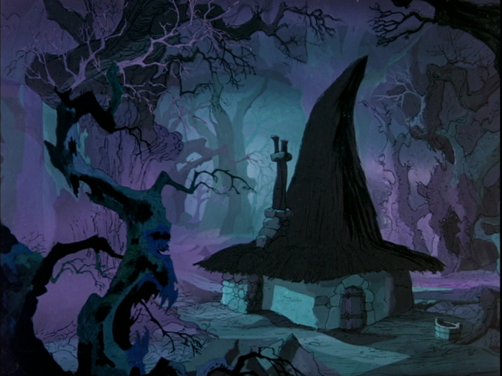 disneytoonland:  The Sword in the Stone 1963  Dream home.