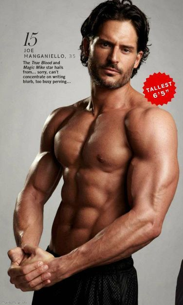 fuckyeahjoemanganiello:  Glamour UK, November 2012 - page 99 - Sexiest Men 2012 (cropped)