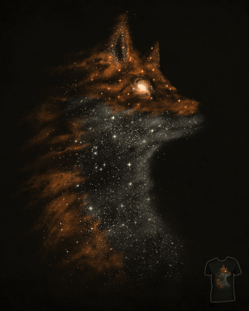 This great T-shirt design, 'StarFox' by DannE-B, is up for scoring over at Threadless.com so if you'd like to see it get printed click on the image above to go and score it a 5!