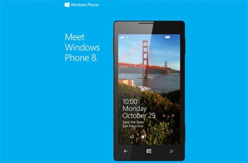 Save the Date: Windows Phone 8 event planned for Oct. 29, alongside Windows 8 OS release